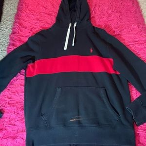 ‼️ POLO by Ralph Lauren black and red hoodie ‼️